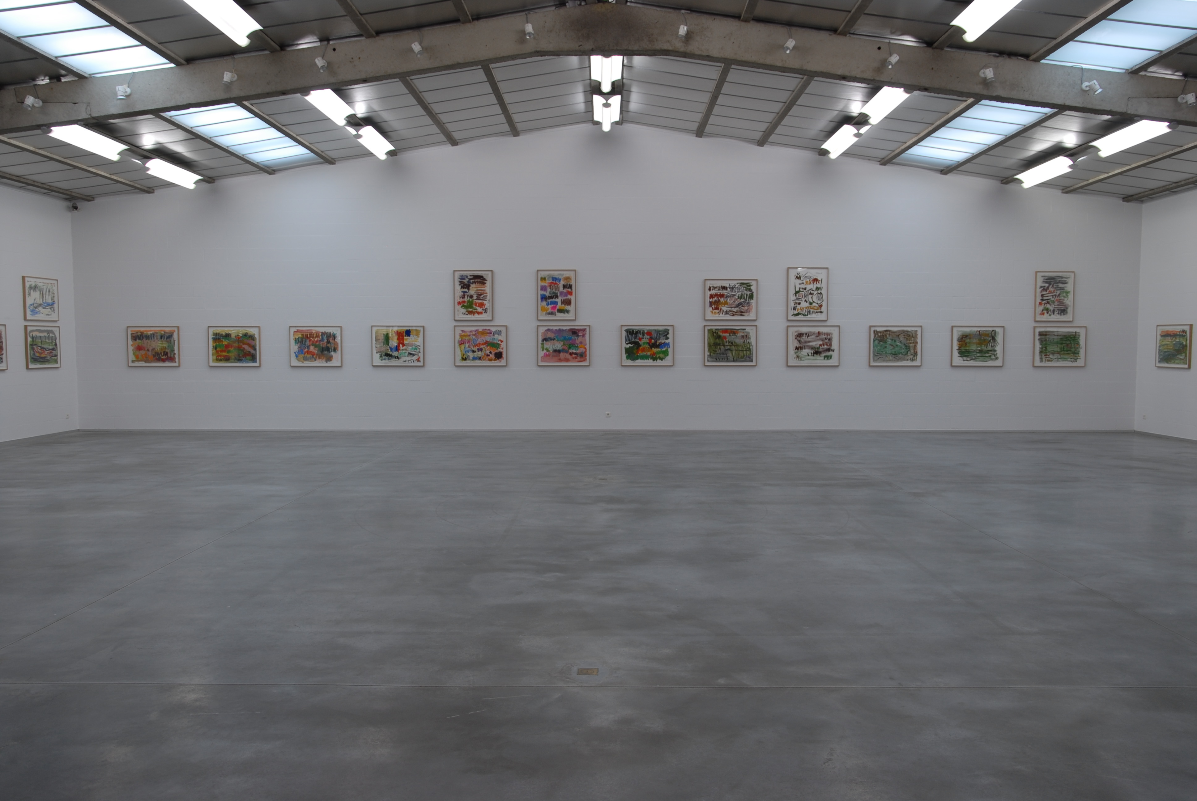 Günther Förg, The Double Dream of Spring, 2013 - exhibition view