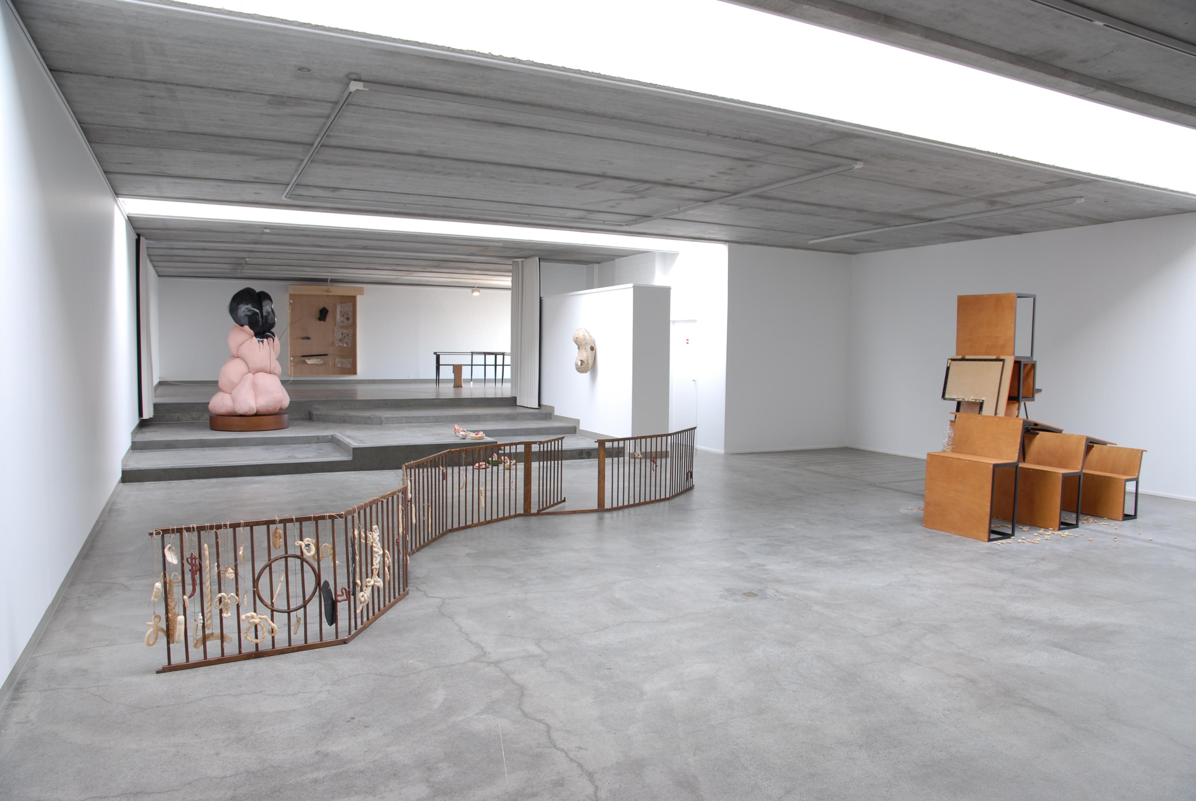 Kasia Fudakowksi, Where is your alibi, Mr. Motorway?, 2013 - zicht op de tentoonstelling
